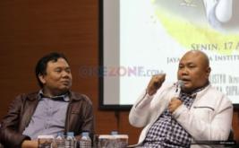"<p>  Diskusi bertema ""Kekeliruan Kebebasan Kebablasan, Menyusun Desain Komunikasi Politik yang Sehat"" di Jakarta, Senin (17/4/2017).</p>"