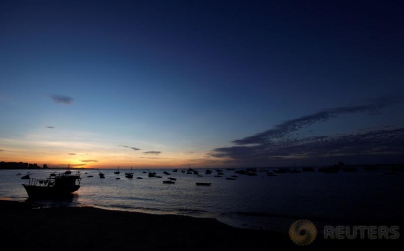 Yuk, Tengok Keindahan Sunset di Pantai Meireles Brasil!