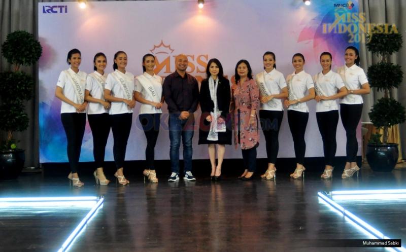 MISS INDONESIA 2017: 34 Finalis Ikuti Fast Track Catwalk