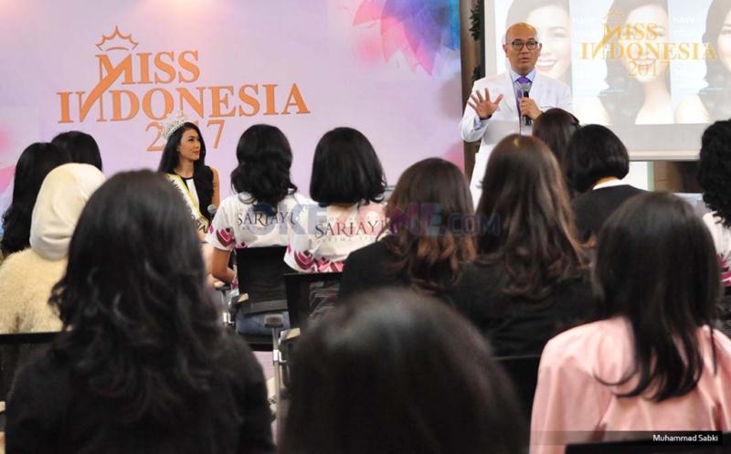 MISS INDONESIA 2017: Jalani Pembekalan Kesehatan Gigi