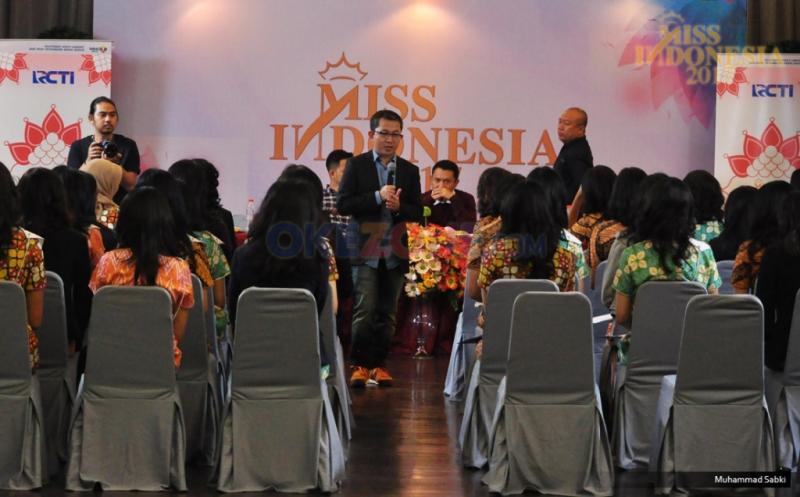 MISS INDONESIA 2017: 34 Finalis Terima Pembekalan tentang Motivasi Hidup