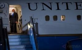 Wakil Presiden Amerika Serikat (AS) Michael R. Pence tiba di Bandara Internasional Halim Perdanakusuma, Jakarta, Rabu (19/4/2017) malam. Agenda utama kunjungan perdana Michael R. Pence ke Indonesia yaitu berkaitan dengan kepentingan Indonesia dan Amerika Serikat di bidang ekonomi dan politik.