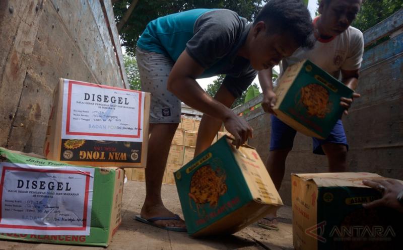 BPOM Surabaya Sita 350 Kardus Isi 14 Jenis Produk Jamu Ilegal