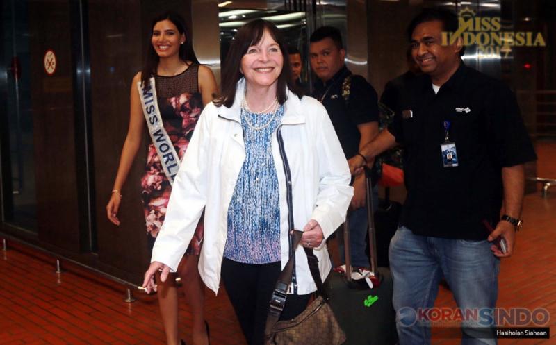 MISS INDONESIA 2017: Miss World 2016 Tiba di Jakarta