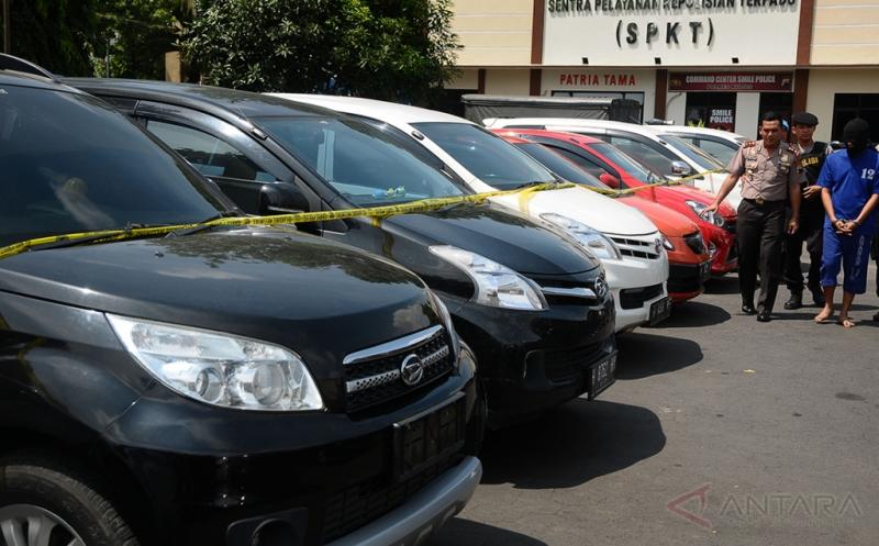 Polisi Kudus Ungkap Jaringan Penggelapan Mobil Rental