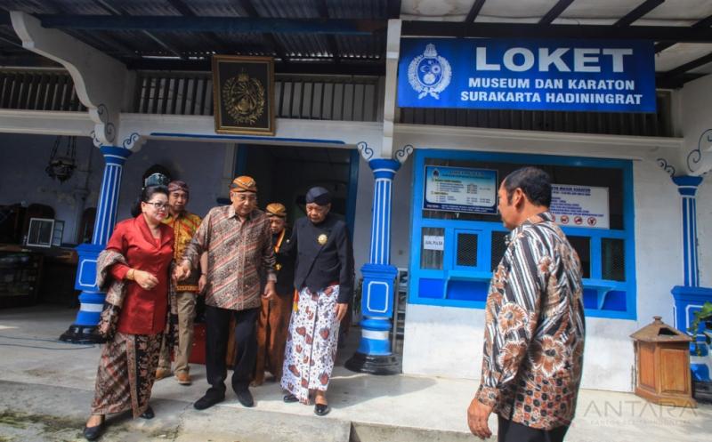 Hore... Museum Keraton Kasunanan Surakarta Dibuka Kembali