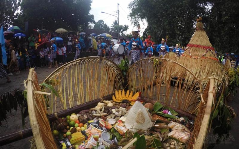 Kirab Merti Desa Mbah Gergas Bentuk Rasa Syukur Kepada Tuhan