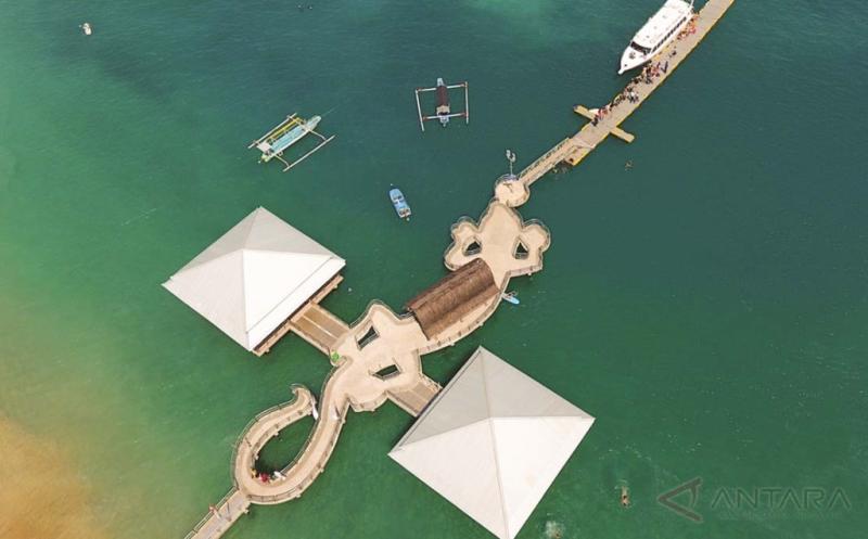 Ada Pelabuhan Berbentuk Cicak di Lombok