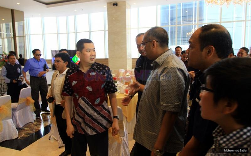 Hary Tanoe Terima Kunjungan Menteri Komunikasi dan Multimedia Malaysia