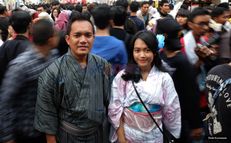 Gunakan Busana Cosplay Pengunjung Padati Festival Jakarta Little Tokyo 2017