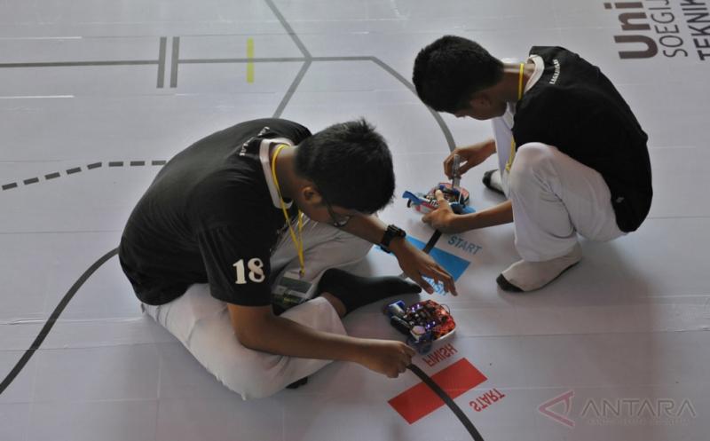 Upaya Gairahkan Ilmu Robotika di Kalangan Pelajar dan Masyarakat