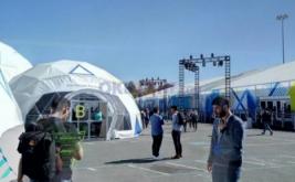 Suasana hari pertama Google I/O 2017 di Mountain View, California, Amerika Serikat, Rabu (17/5/2017) waktu setempat. Acara ini berlangsung selama tiga hari, mulai Rabu-Jumat (17-19 Mei).