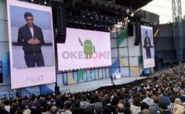 Suasana keseruan hari pertama Google I/O 2017 di Mountain View, California, Amerika Serikat, Rabu (17/5/2017) waktu setempat. Acara ini berlangsung selama tiga hari, mulai Rabu-Jumat (17-19 Mei).