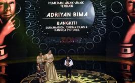 Adriyan Bima Pemeran Anak-Anak Terbaik IMAA 2017