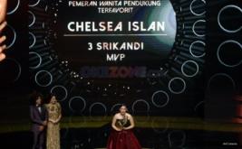 Chelsea Islan Pemeran Wanita Pendukung Terbaik IMAA 2017