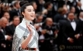Fan Bingbing Tampil Cantik di Red Carpet Festival Film Cannes ke-70
