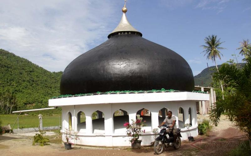 Situs Kubah Masjid Tsunami Jadi Wisata Religi