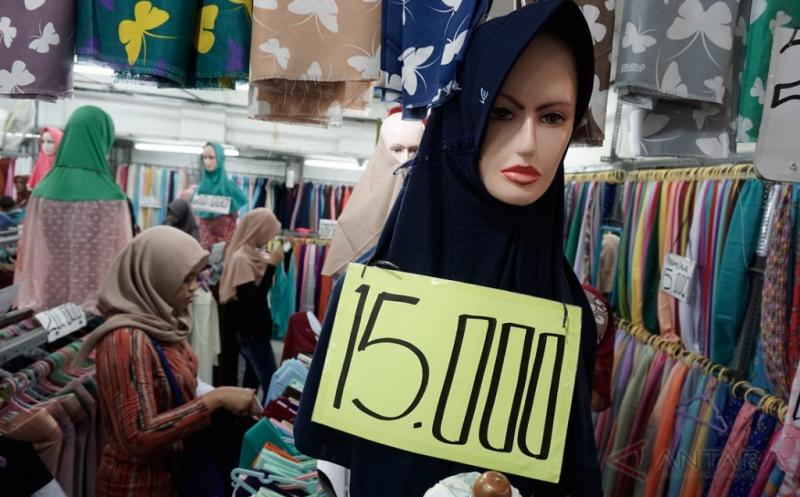 Alhamdulillah, Penjualan Busana Muslim di Yogyakarta Meningkat sejak Awal Ramadan