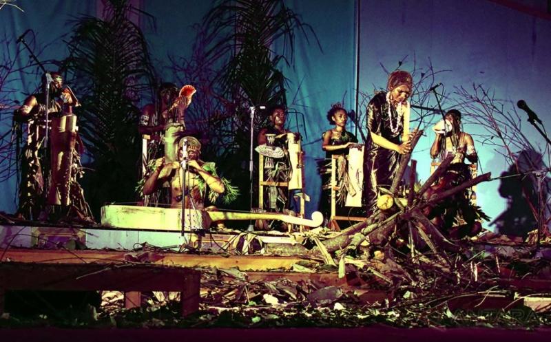 Pentas Seni Ensamble Musik Papua