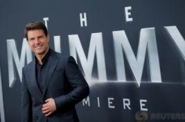 """Aktor Tampan Tom Cruise Hadir di Premiere Film """"The Mummy"""""""