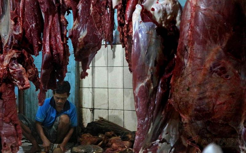 Harga Daging Sapi di Bojonegoro Cenderung Stabil