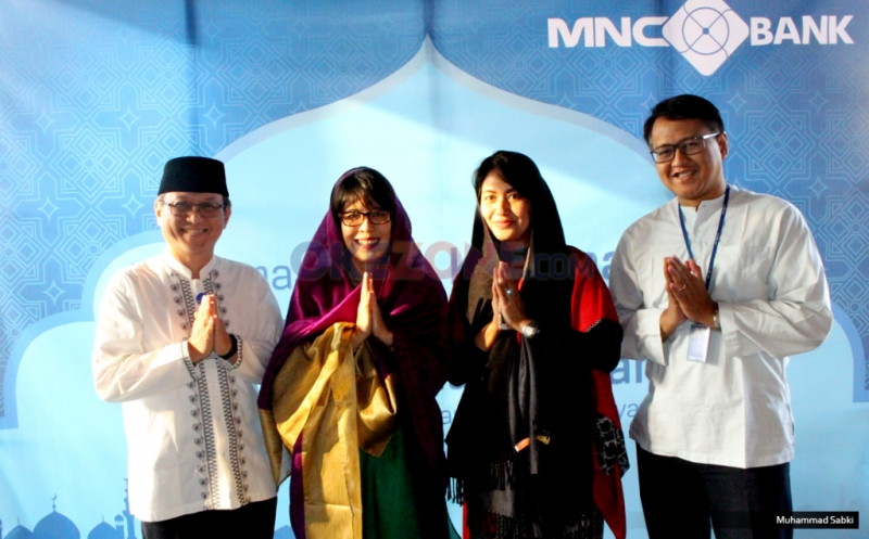 MNC Bank Buka Bersama dan Santunan Seratus Anak Yatim
