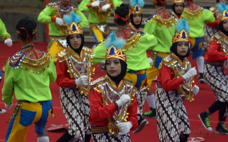Seniman Magelang Ramaikan Pesta Kesenian Bali ke-39