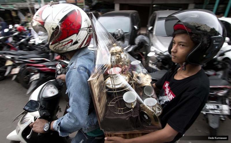 Harga Parcel di Pasar Kembang Cikini Dibanderol Mulai Rp200 Ribu