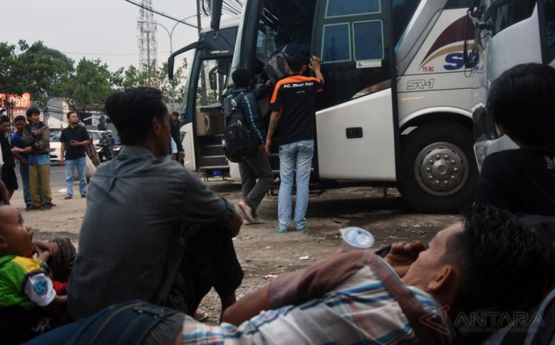 Pemudik Asal Depok Gunakan Bus AKAP Mulai Meningkat