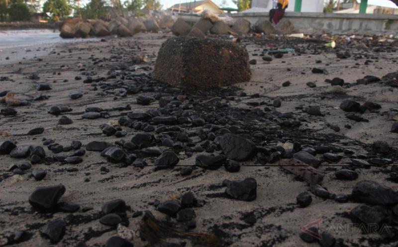 Kawasan Pantai Tercemar Limbah Batu Bara