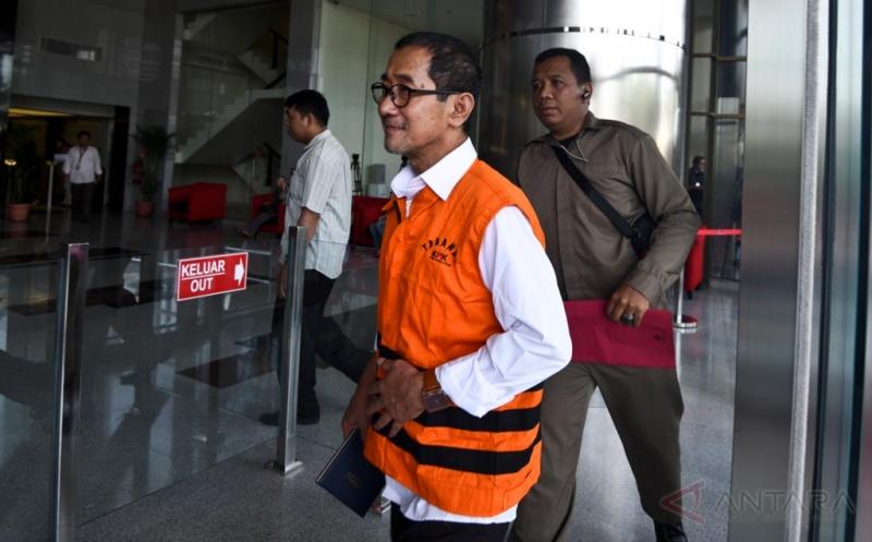 Wakil Ketua DPRD Kota Mojokerto Abdullah Fanani Jalani Pemeriksaan Perdana di KPK