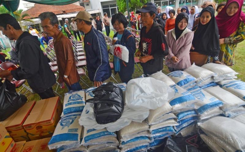 Operasi pasar Murah Jelang Lebaran di Tasikmalaya