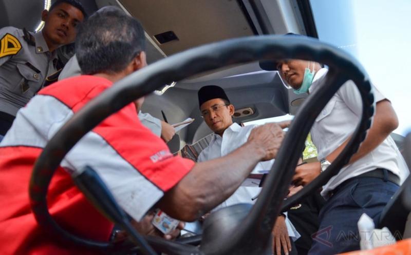 INFO MUDIK 2017 :  Gubernur NTB  M Zainul Majdi Sidak Terminal Mandalika NTB