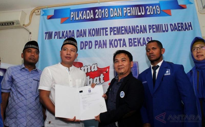 Vicky Prasetyo Mantan Zaskia Gotik Maju Pilkada Kota Bekasi