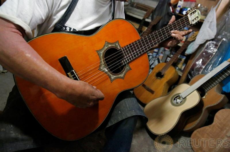 Intip Aktivitas Pembuatan Gitar di Iztapalapa Meksiko