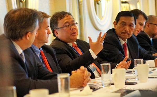 Bambang Brodjonegoro dan Luhut Panjaitan Ajak Para Pebisnis AS untuk Berinvestasi di Indonesia