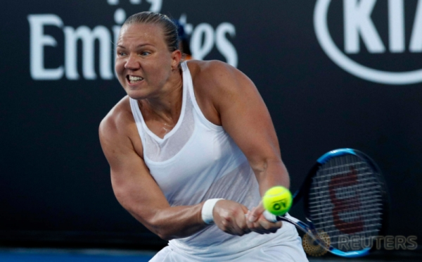 Otot-Otot Kekar Para Petenis Wanita pada Turnamen Australia Terbuka 2018