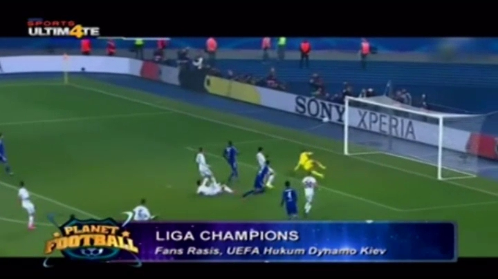 Fans Rasis, UEFA Hukum Dynamo Kiev