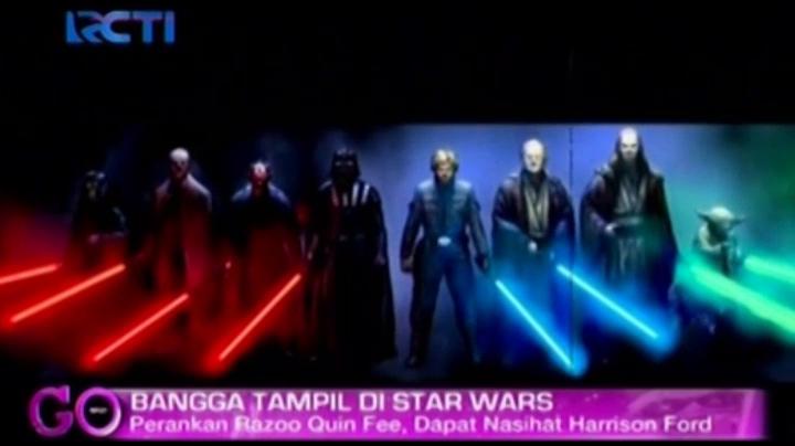 Kisah di Balik Iko Uwais Cs Bermain di Star Wars