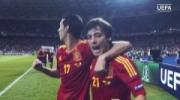 EURO 2012 Final Highlights: Spanyol v Italia