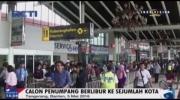 Bandara Soekarno-Hatta Padat Calon Penumpang