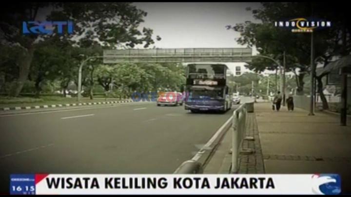Wisata Keliling Kota Jakarta
