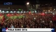 Juara Piala Eropa, Warga Portugal Berpesta