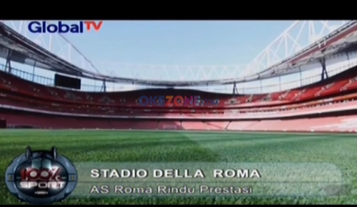 AS Roma Bangun Stadion Baru