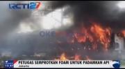Gerbong Kereta Kertajaya Terbakar di Tanjung Priok