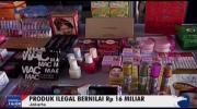 BPOM Musnahkan Ratusan Produk Ilegal Bernilai Rp16 Miliar