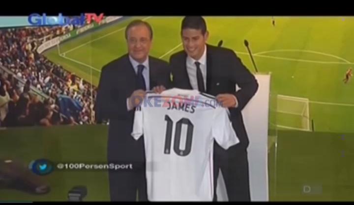 Masa Depan James Rodriguez di Madrid Kian Suram