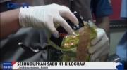Polisi Gagalkan Selundupan 41 KG Sabu