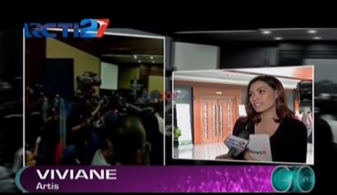 Penasaran, Viviane Saksikan Langsung Sidang Jessica di PN Jaksel