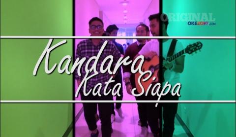 "Main ke Redaksi Okezone, Kandara Bawakan Single ""Kata Siapa"""